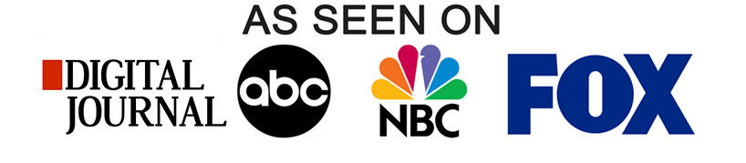 As Seen On Badge - FOX, ABC, NBC and Digital Journal